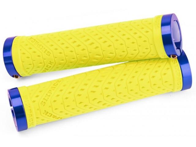 Sixpack K-Trix Lock-On Griffe neon-gelb/blau